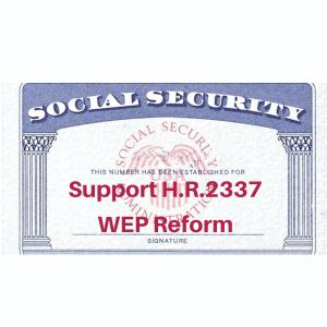 Support for Social Security WEP Reform Grows